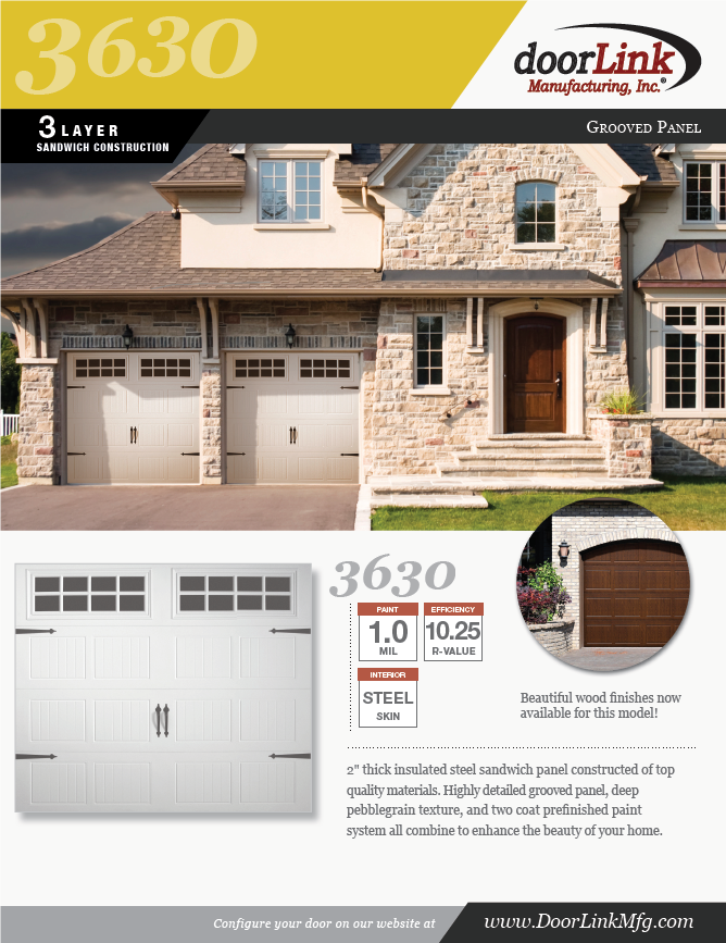 Doorlink 3630 Ozarks Garage Doors